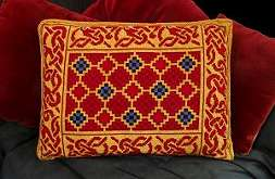 Celtic Interlace Tapestry Pillow