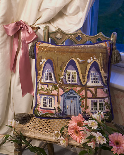 Thatched  Cottage Tapestry Kit