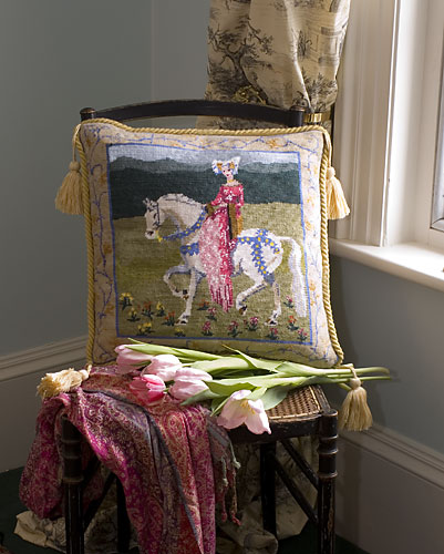 Medieval Lady Tapestry Kit