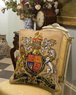 Royal Coat of Arms Tapestry Kit
