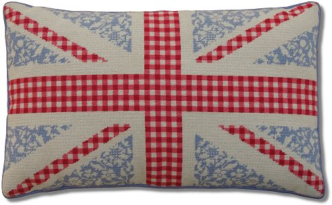 Floral Union Jack Tapestry Kit