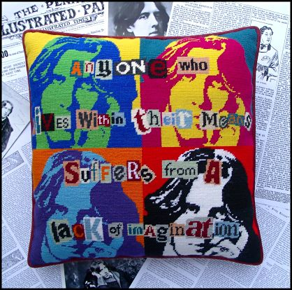 Pop Art Oscar Wilde Tapestry Kit
