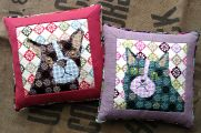 Calico Cat and Calico Dog Tapestry Kits