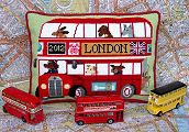 London Bus Tapestry Kit
