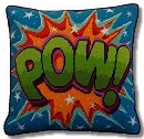 'POW!' Tapestry Kit