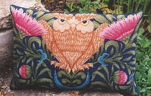 Chollerford Owl Tapestry Pillow