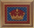 Queen's Crown minature tapestry kit