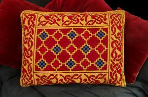 Sutton Hoo Tapestry Pillow