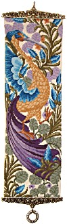 William de Morgan tapestry kit 'Bird of Paradise Bellpull'