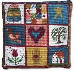 Shaker Patchwork Tapestry Kit