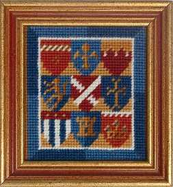Medieval minature tapestry kits