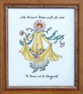 Counted Cross Stitch Kit:  Margarete
