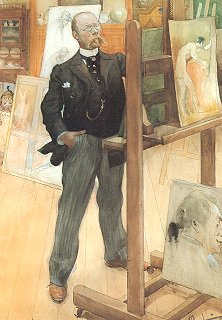 Counted Cross Stitch: Carl Larsson