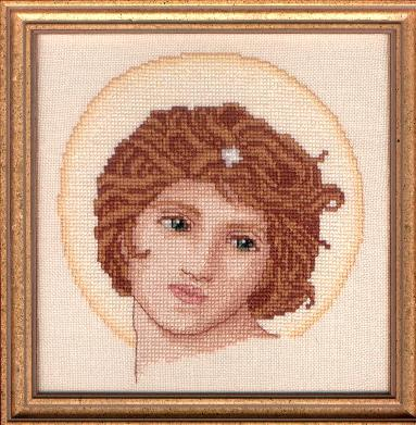 Counted Cross Stitch Kit: Angel