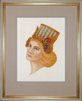 Counted Cross Stitch Kit: Celtic Godess