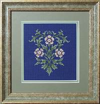 William Morris Counted Cross Stitch Kit: Rose