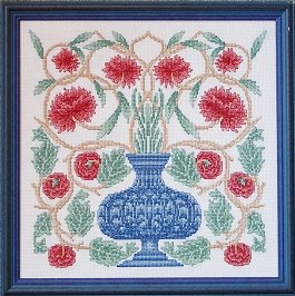 Counted Cross Stitch Kit: Flowerpot