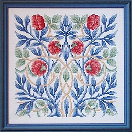 Counted Cross Stitch Kit: Rose