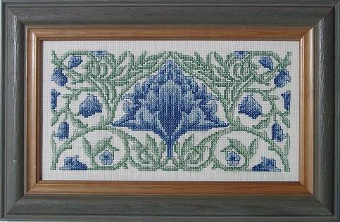 Counted Cross Stitch Kit: Selbourne