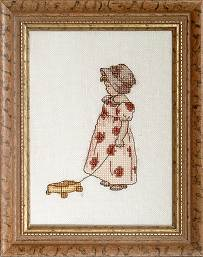 Counted Cross Stitch Kit: Beth