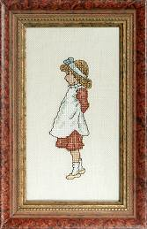Counted Cross Stitch Kit:  Elizabeth