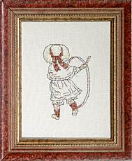 Counted Cross Stitch Kit: Kate