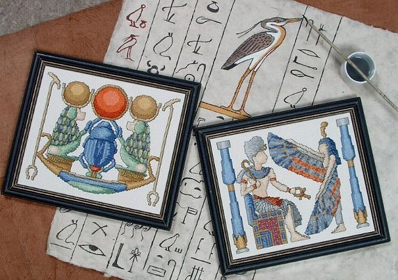 Valley of the Kings counted cross stitch designs