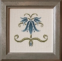 Counted Cross Stitch Kit: Crown Imperial