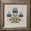 Counted Cross Stitch Kit: Tulips