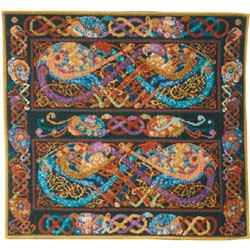 Animal Fayre Celtic Peacock Tapestry Kit