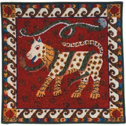 Animal Fayre Dog and Snakes Tapestry Kit