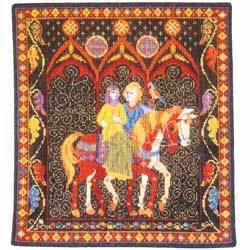 Animal Fayre Green Lady Tapestry Kit