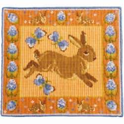 Animal Fayre Rabbit and Teasels Tapestry Kit