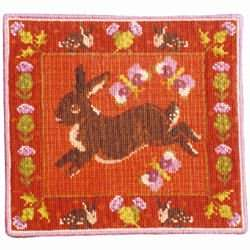 Animal Fayre Rabbit and Thistles Tapestry Kit