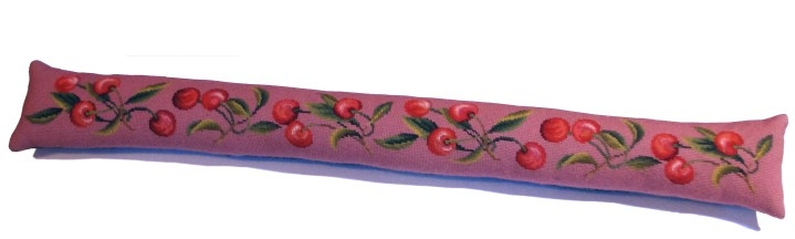 Beverley Trammed Tapestry: Red Cherries Bellpull