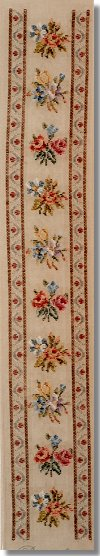 Beverley Trammed Tapestry Bellpull with Small Sprays and Border
