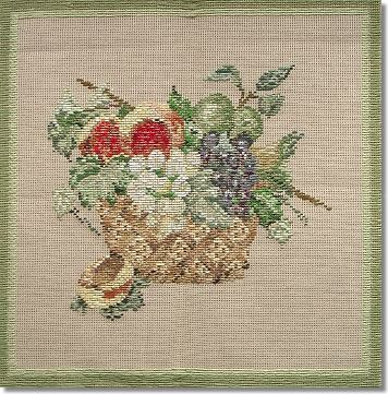 Beverley Trammed Tapestry: 'Basket of Fruits' Picture