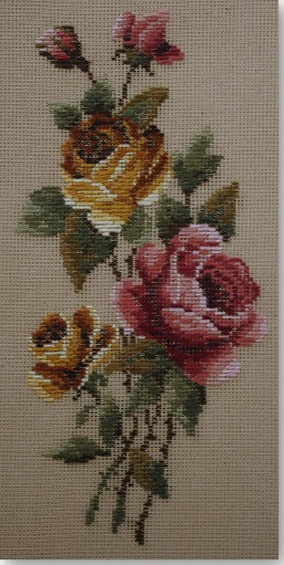 Beverley Trammed Tapestry:  Autumn Rose Panel