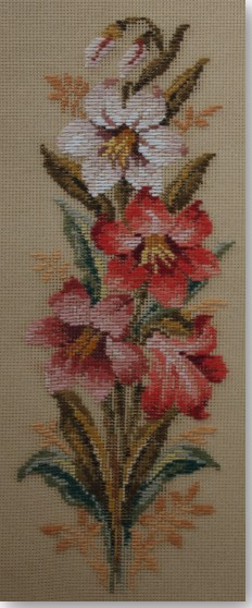 Beverley Trammed Tapestry:  Lilly Panel