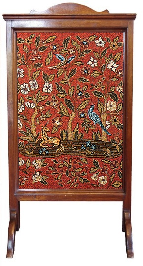 Beverley Trammed Tapestry: Medieval 'Cluny' Firescreen