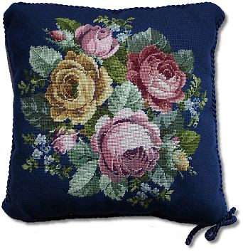 Beverley Trammed Tapestry: 'Mixed Old English Roses'