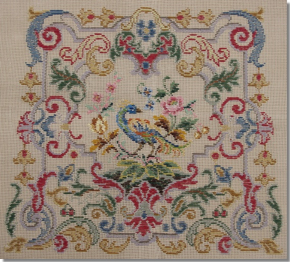 Beverley Trammed Tapestry: Chippendale Chair Seat