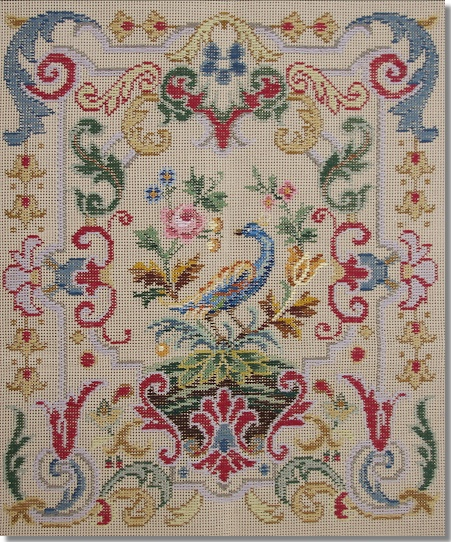 Beverley Trammed Tapestry: Chippendale Panel