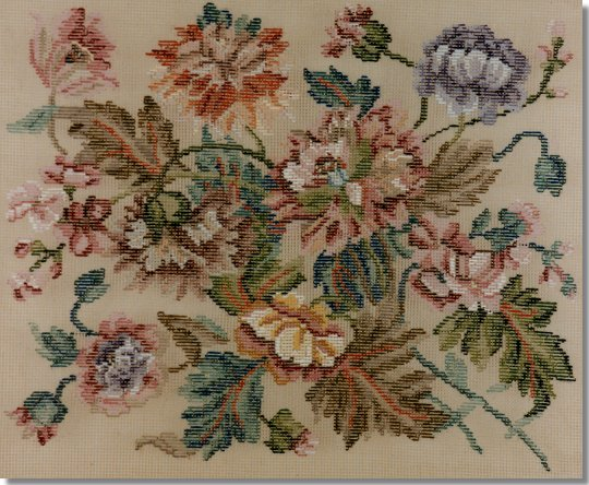 Beverley Trammed Tapestry: Poppies & Carnations