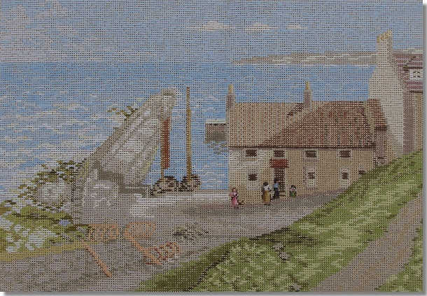 Beverley Trammed Tapestry: The Harbour