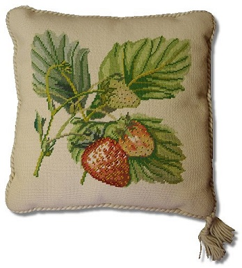Beverley Trammed Tapestry: Large Strawberry