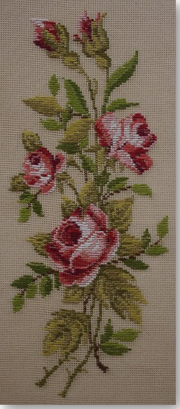 Beverley Trammed Tapestry:  Red Rose Panel