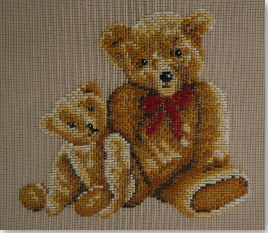 Beverley Trammed Tapestry:  Teddies Together