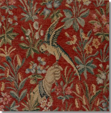 Beverley Trammed Tapestry:  Cluny Falcon