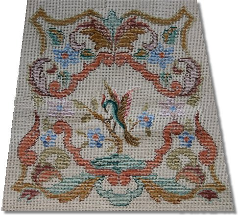 Beverley Trammed Tapestry: Small Chippendale Chair Seat #2